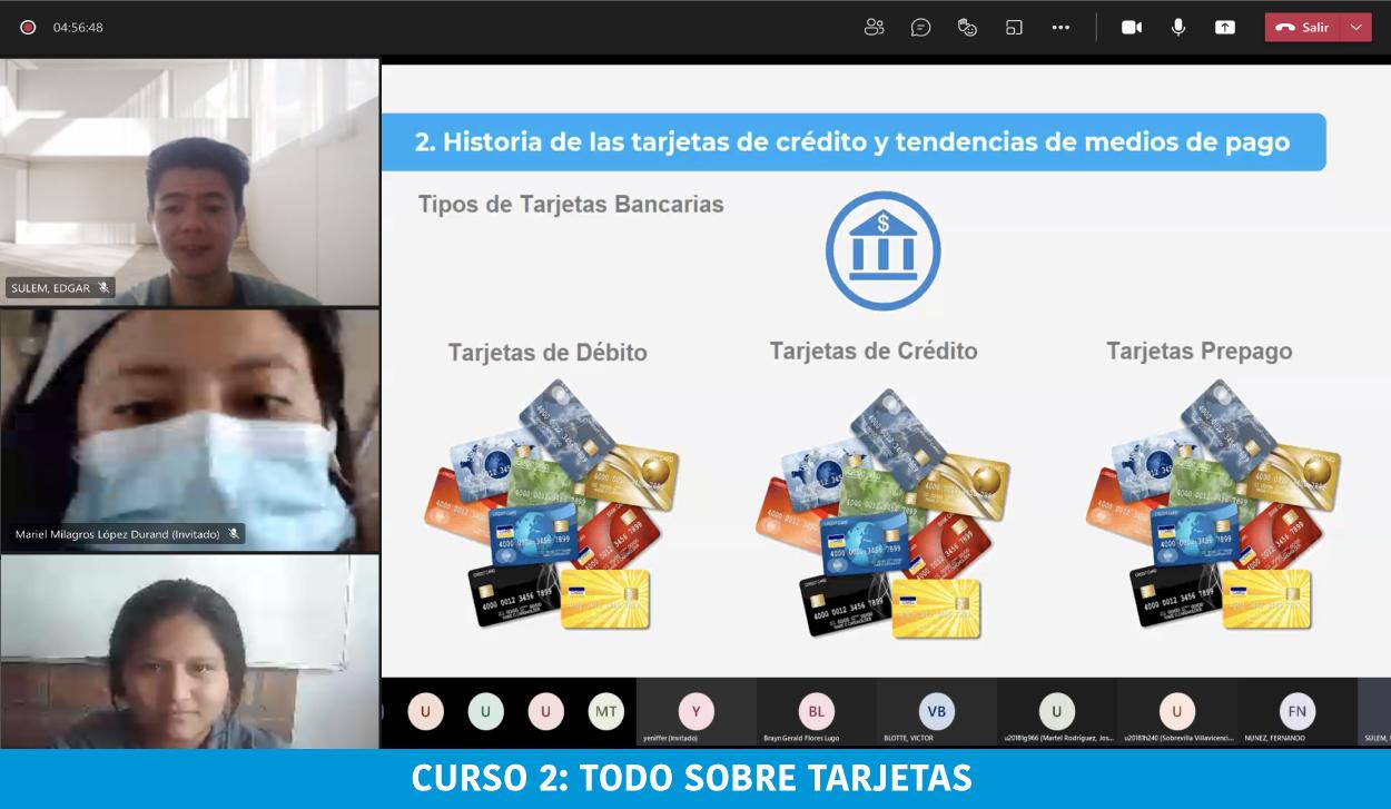"""BanBif brindó capacitación virtual de """"Finanzas Personales"""" a alumnos de la Universidad Peruana de Ciencias Aplicadas (UPC)"""