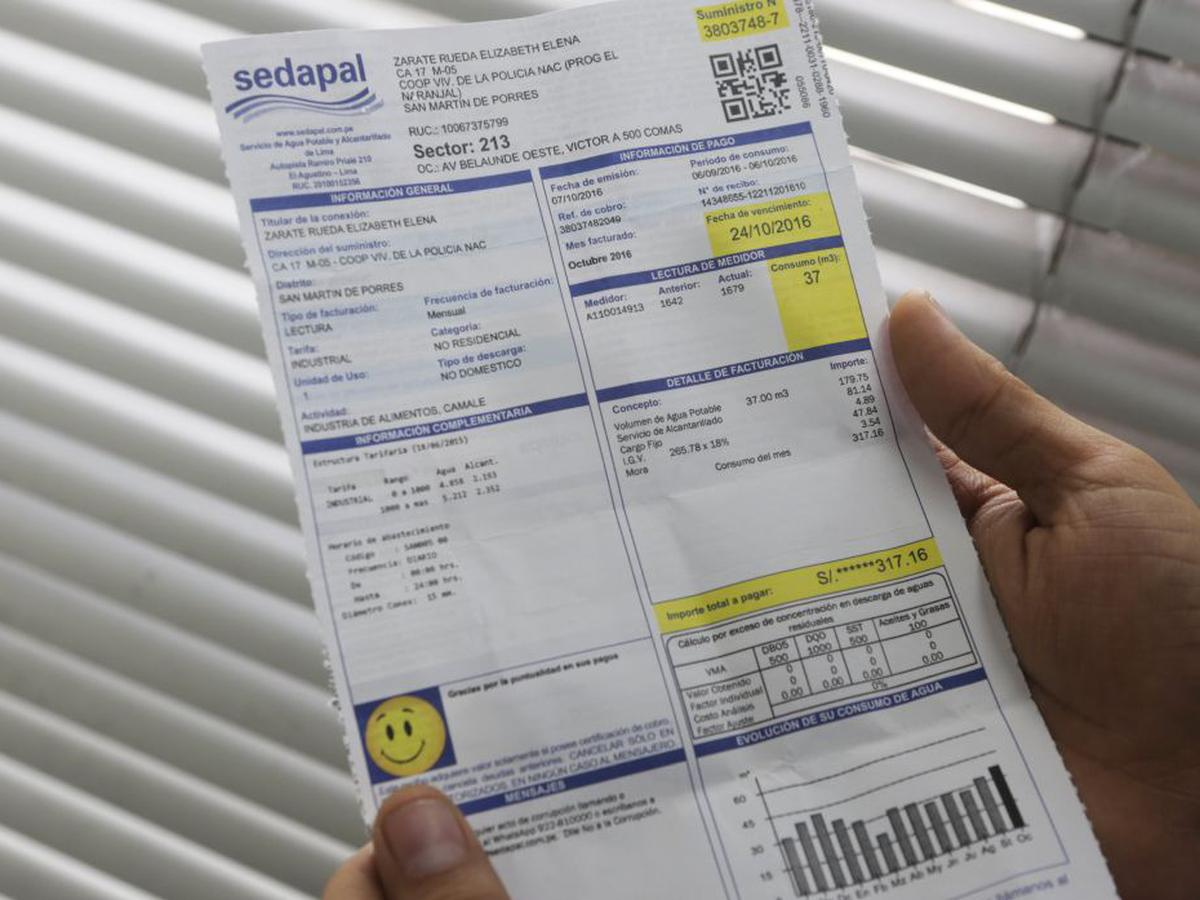 Sedapal: 1.7 millones de usuarios de Lima y Callao pueden pagar ahora recibos desde sus celulares