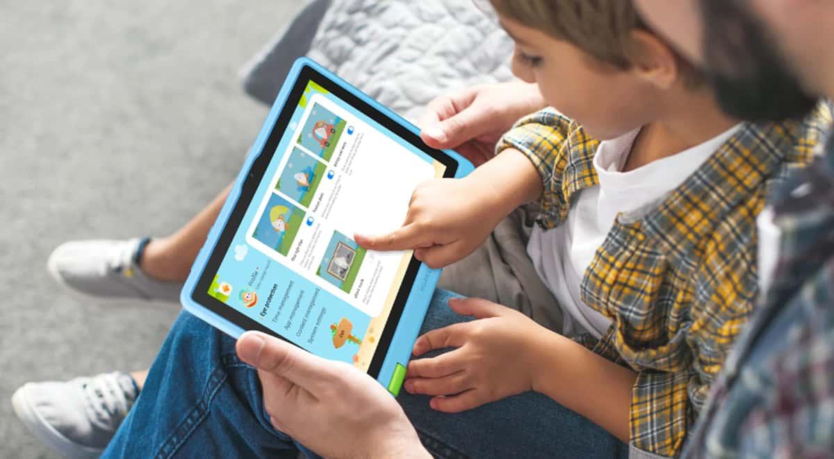 Monitorea el contenido que ven tus hijos con el control parental de la HUAWEI MatePad T Kids Edition