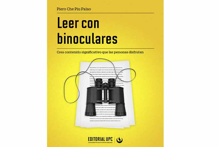 Editorial UPC presenta el libro Leer con binoculares