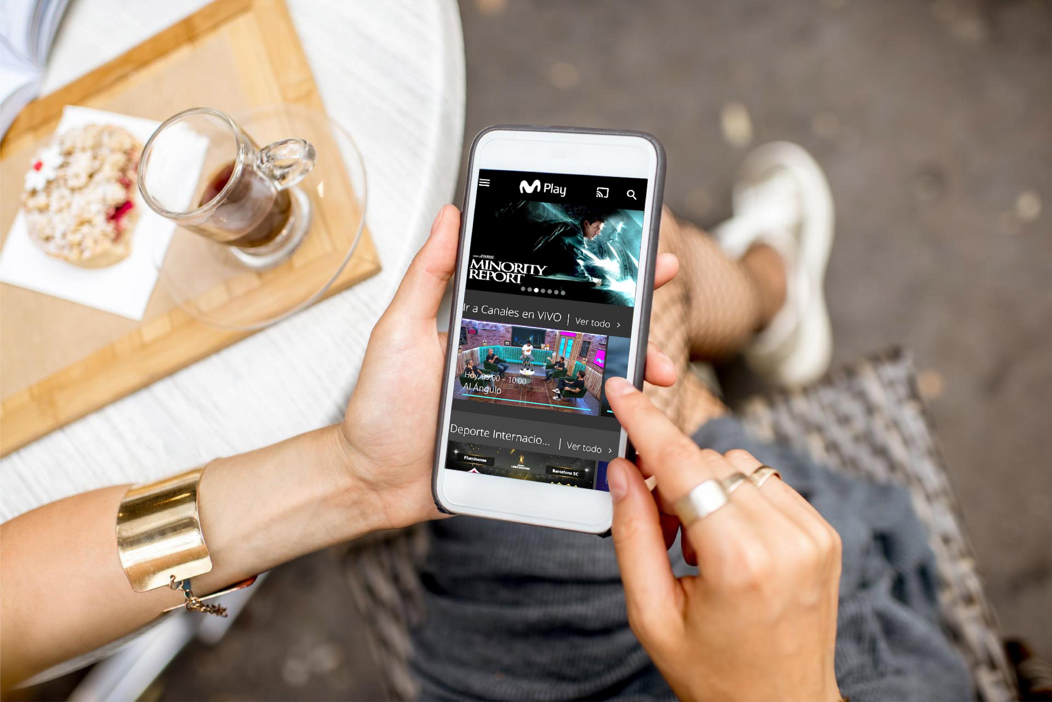 Consumo de contenidos en la multiplataforma de streaming Movistar Play se duplicó entre 2019 y 2020