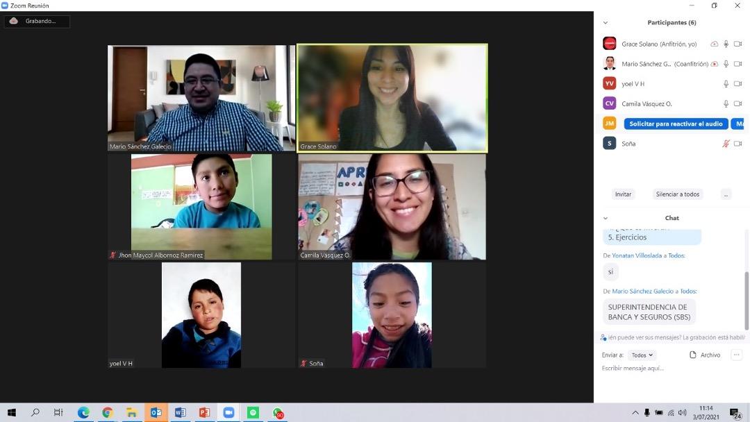 BanBif brindó talleres de educación financiera a estudiantes de Cajamarca, La Libertad, Ica, Arequipa, Amazonas y Cusco
