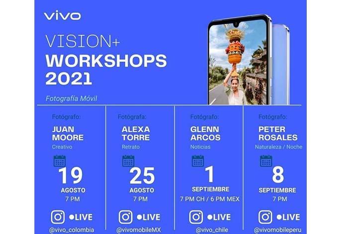 vivo ofrece talleres gratuitos de fotografía móvil como parte de la iniciativa VISION+ junto a National Geographic