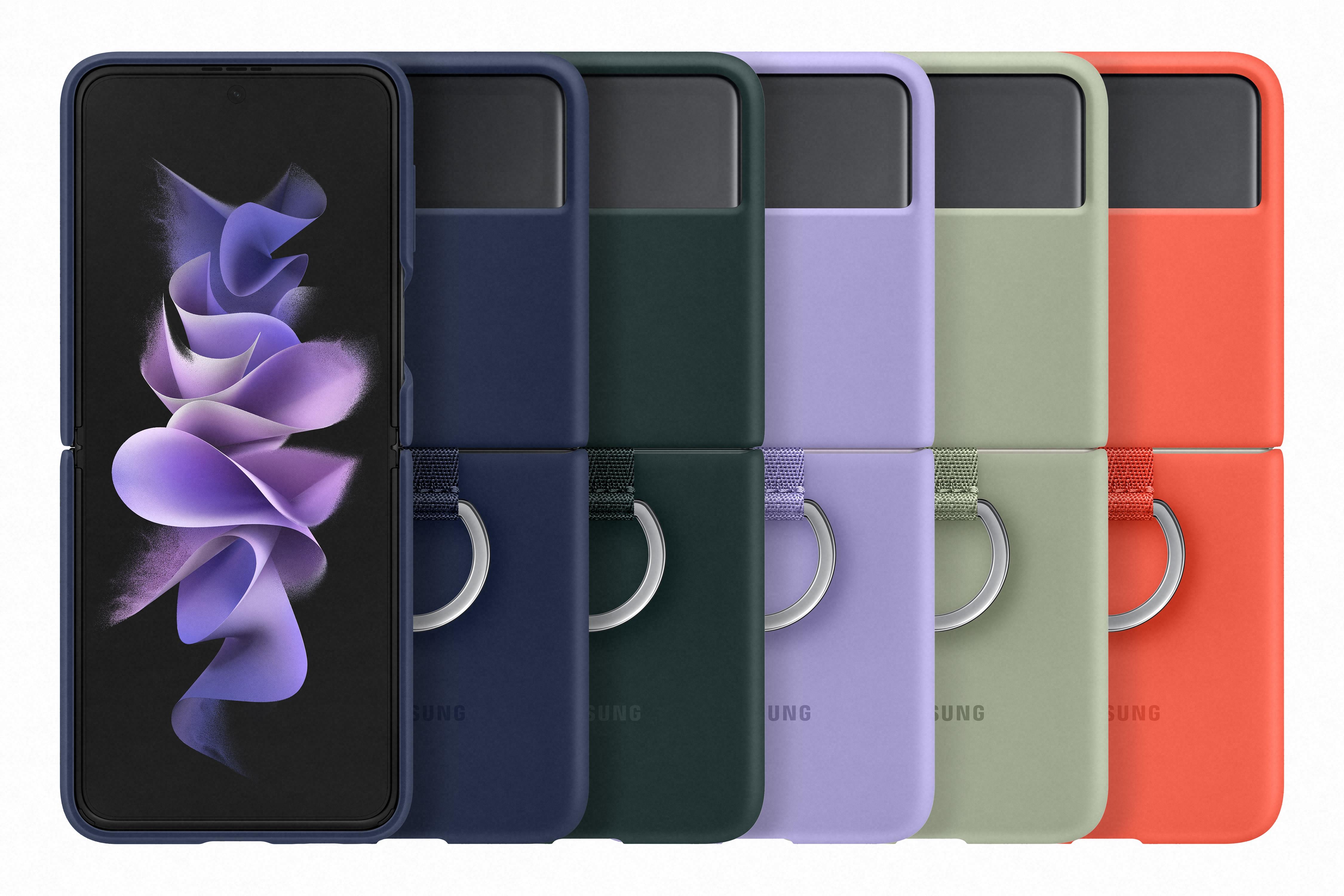 Combina la moda con la tecnología con el diseño único del Galaxy Z Flip3
