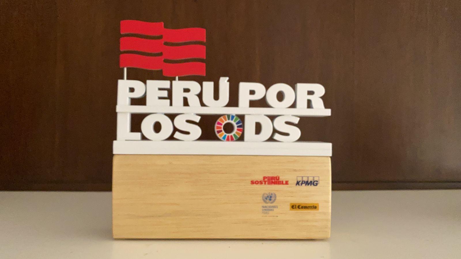 """9 organizaciones obtienen el reconocimiento """"Perú por los ODS 2021"""""""