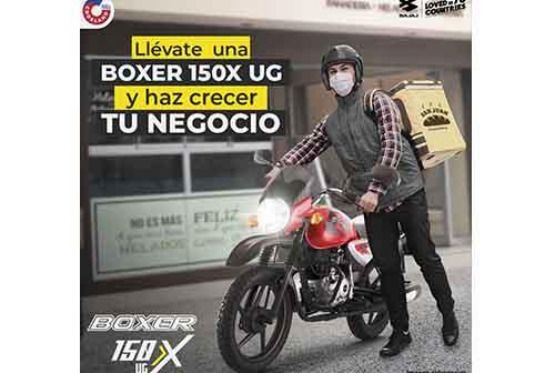 Boxer 150X UG: Haz crecer tu negocio con un vehículo de calidad