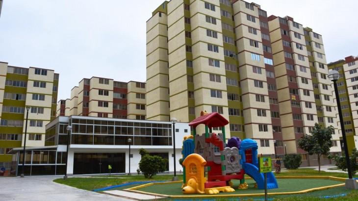 Lima Metropolitana registra un incremento anual de 3.6% del precio promedio del m2 y una disminución en -5.4% de las ventas