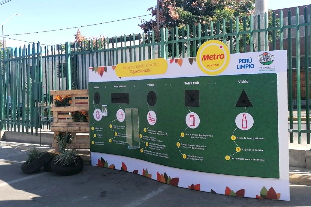 Metro continúa promoviendo el reciclaje e implementa más estaciones a nivel nacional