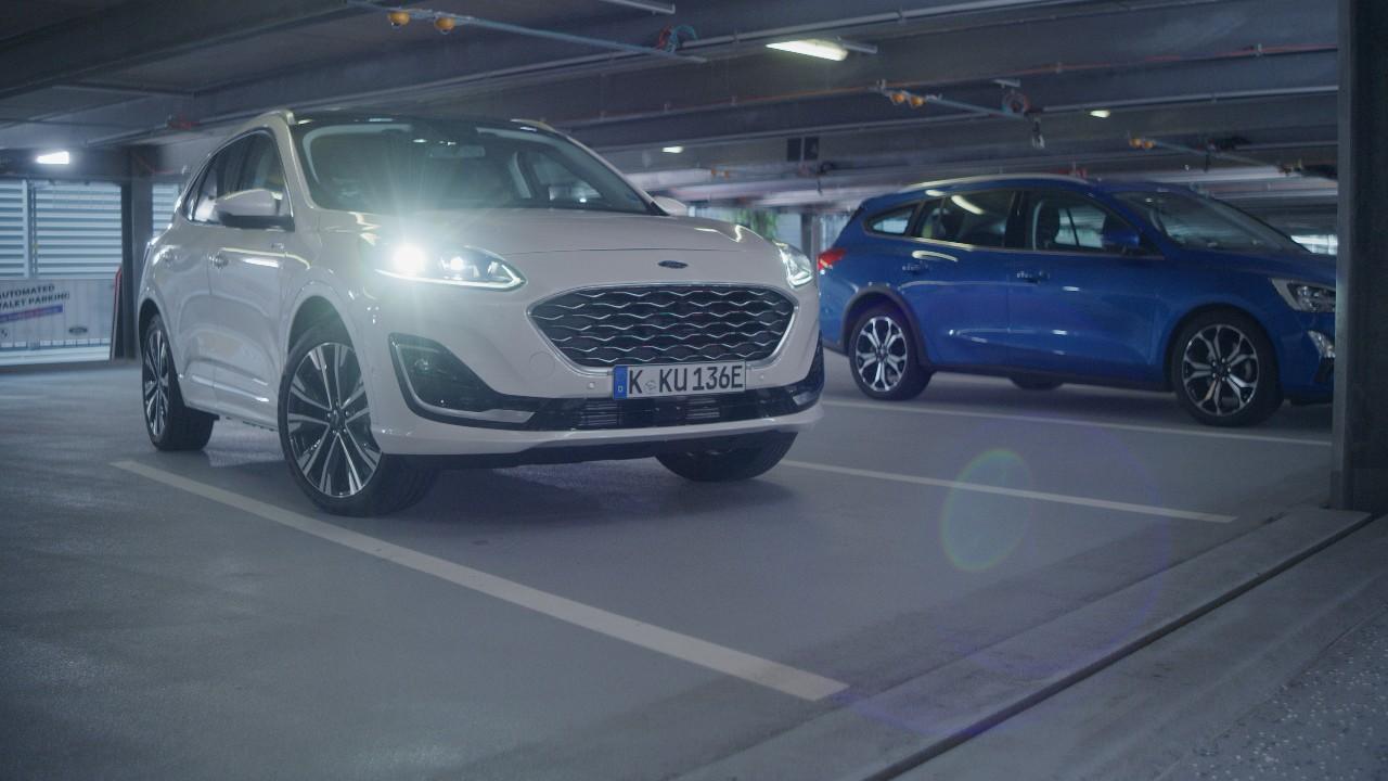 Ford presentó un novedoso y revolucionario servicio de estacionamiento automatizado en el IAA Mobility de Múnich
