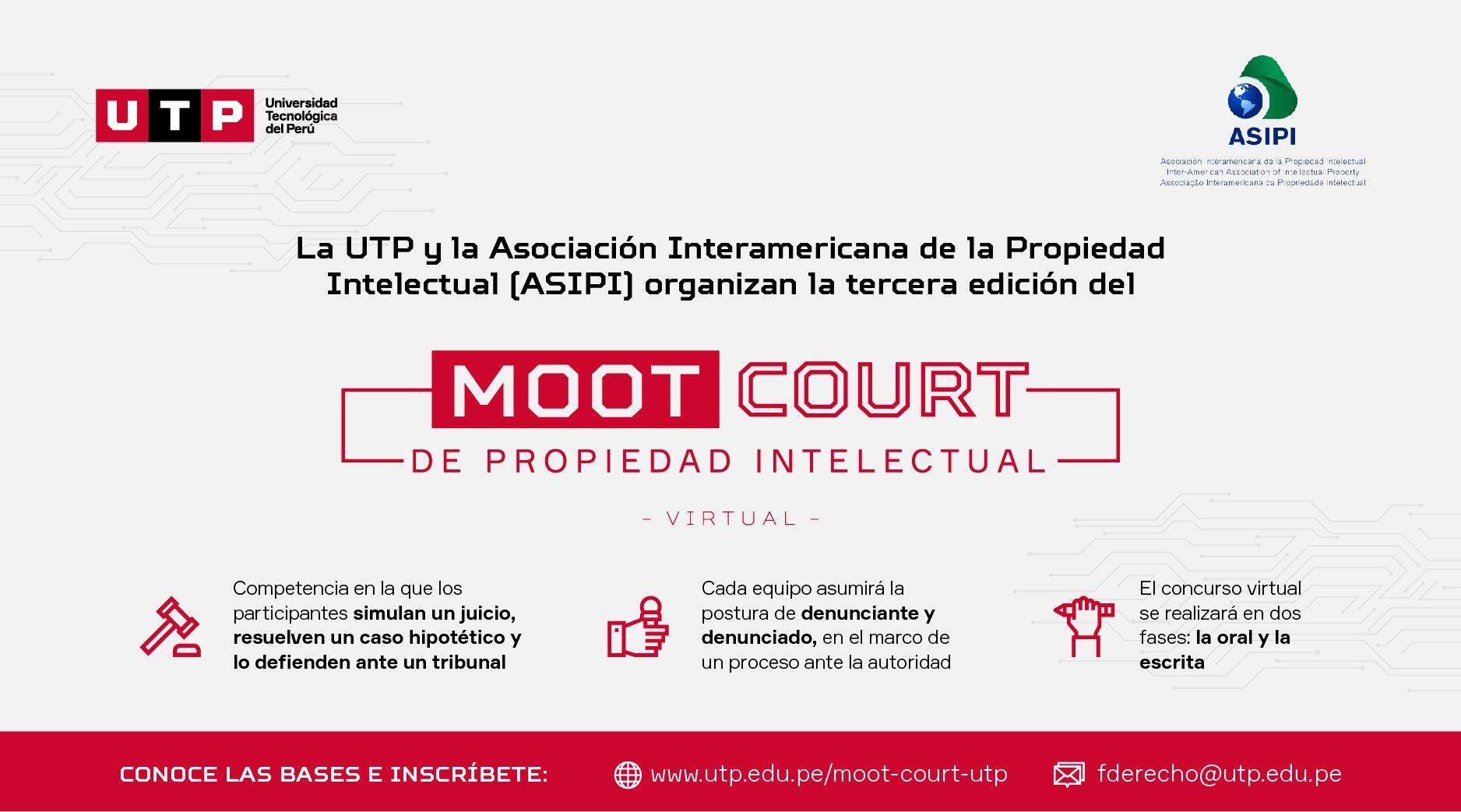 UTP y ASIPI organizan la tercera edición del Moot Court de Propiedad Intelectual