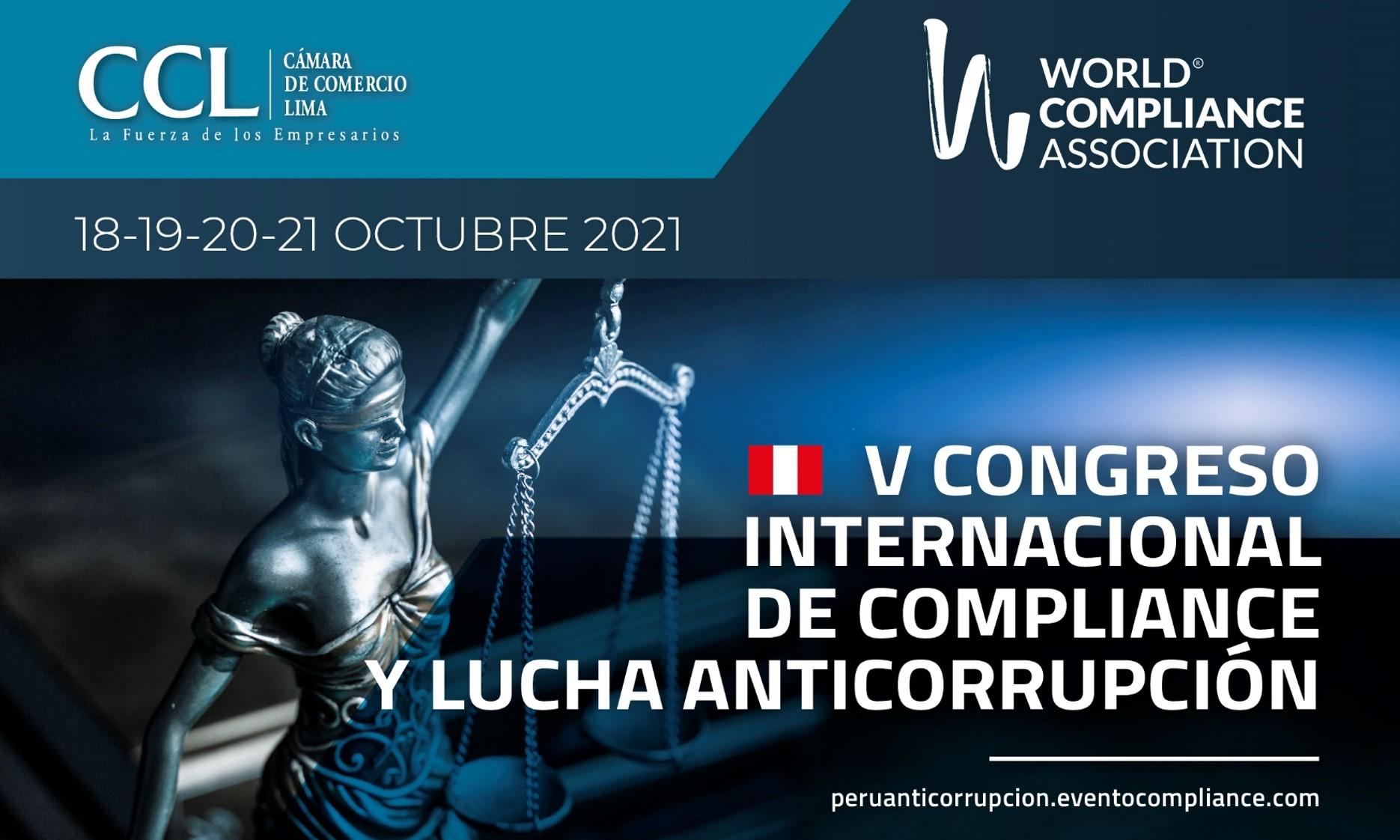 Congreso Internacional de la WCA se suma a la lucha anticorrupción como política de Estado prioritaria de la agenda del Bicentenario