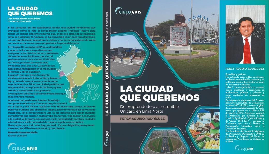 La Ciudad que Queremos, un libro que busca articular la gestión pública con el emprendimiento social