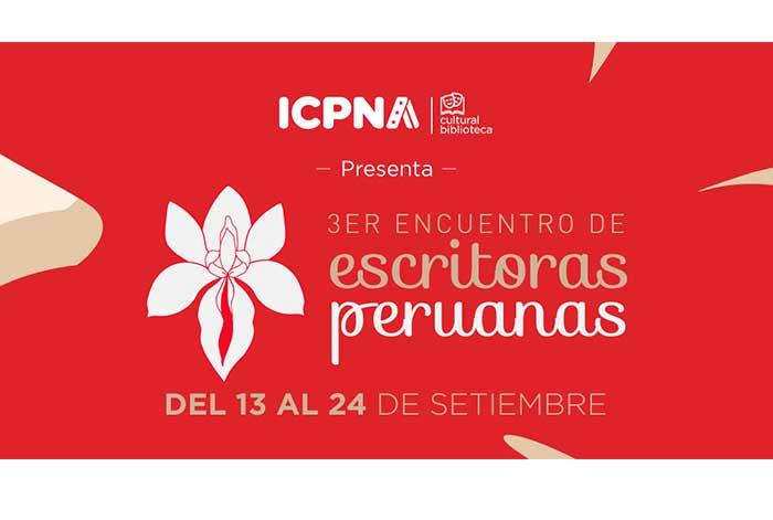 3er Encuentro de Escritoras Peruanas ICPNA visibilizando la literatura del género femenino