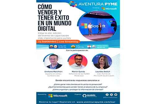 Microsoft sigue apoyando a las PYMES de América Latina