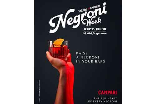 Disfruta de la Semana del Negroni en los mejores restaurantes y bares