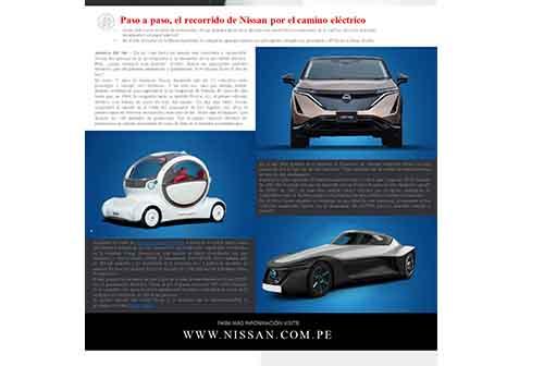 El recorrido de Nissan por el camino eléctrico