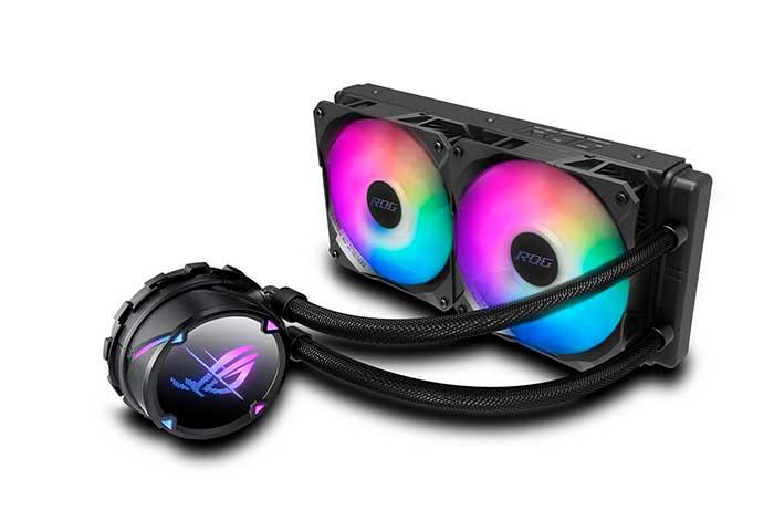 ASUS anuncia los coolers AiO de CPU ROG Ryujin II, ROG Strix LC II y TUF Gaming LC ARGB