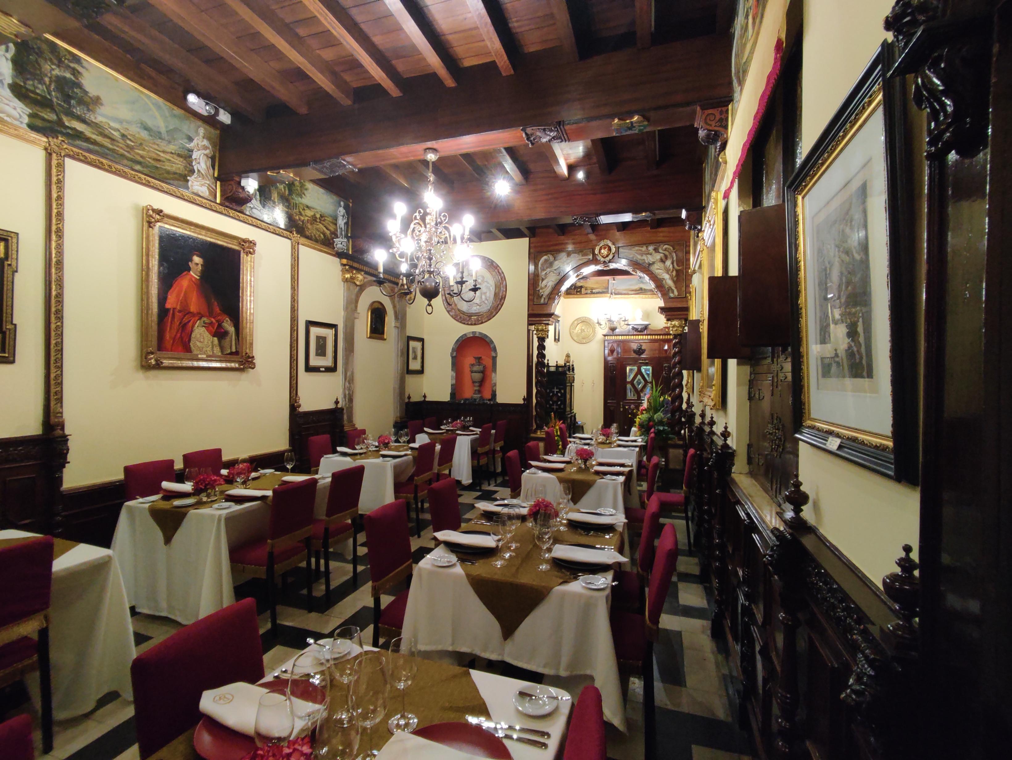 Rubens Restaurante: Conceptos de pintura en platos de autor