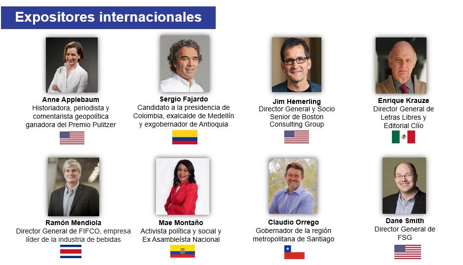 #CADEejecutivos: Expertos internacionales reflexionarán sobre los desafíos y oportunidades para construir un Perú inclusivo, competitivo y próspero