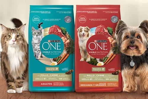 Purina lanza nueva marca de alimento súper premium para mascotas